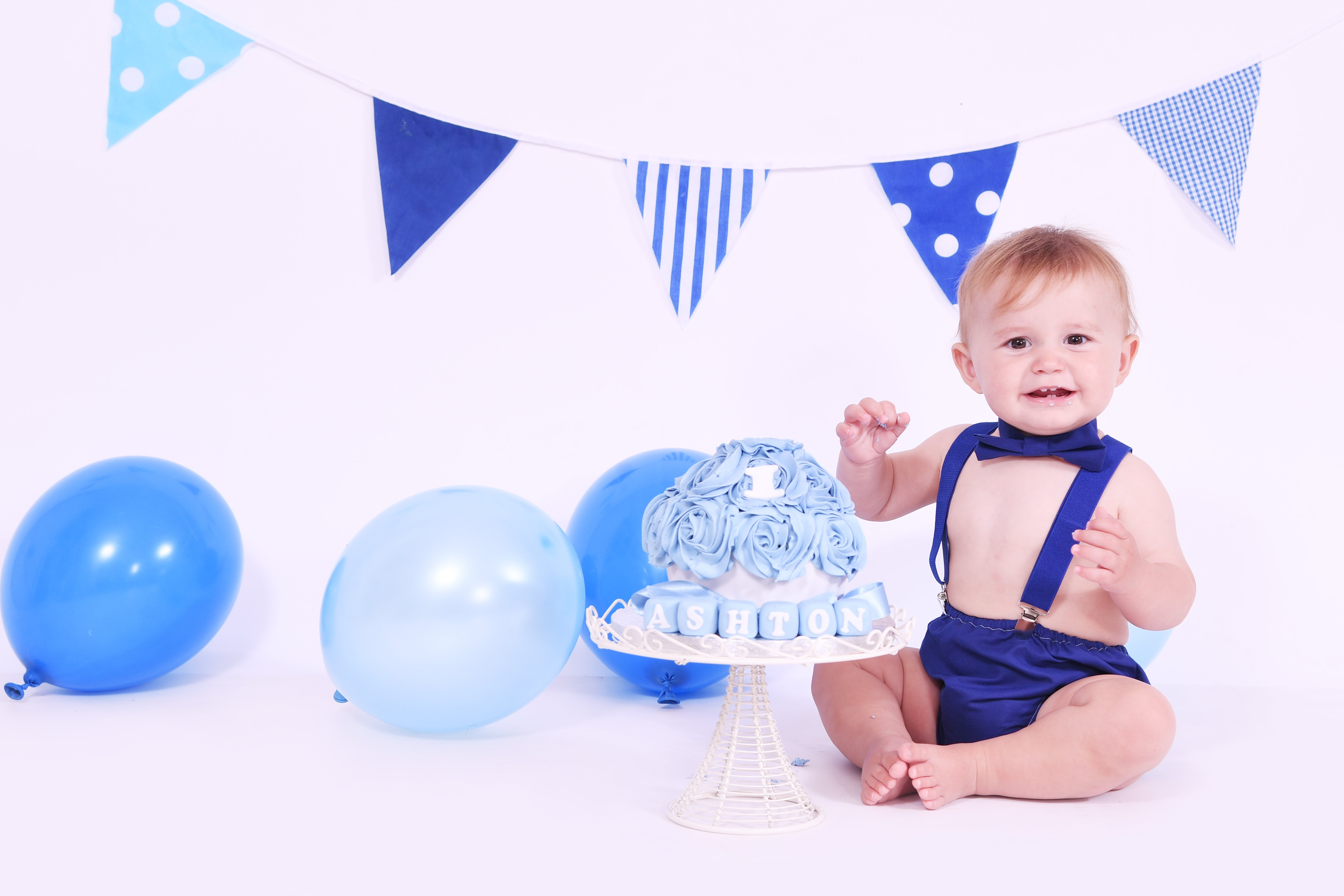 BRIGHT BLUES BUNTING